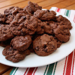 double-chocolate-chip-mint-cookies