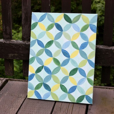 Overlapping Circles Painting