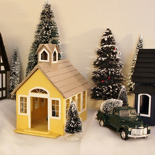 My Handmade Christmas Village