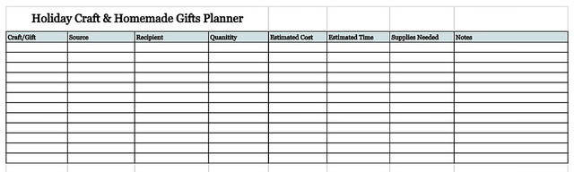 online-holiday-planner-holiday-craft-homemade-gift-planner