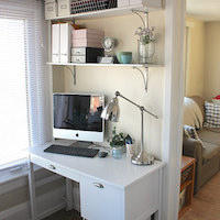 Little Home Office Reveal