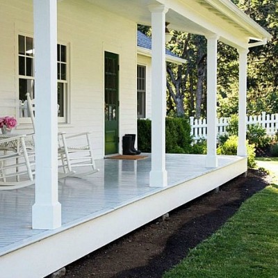 Planning the Front Porch Restoration