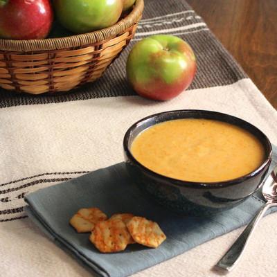 Apple Cheddar Soup
