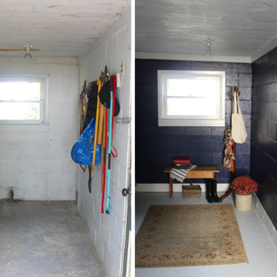Navy Mudroom Makeover & Behr Paint 2016 Colour Trends Giveaway