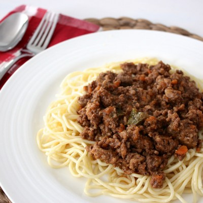 Northern Italian Bolognese Sauce