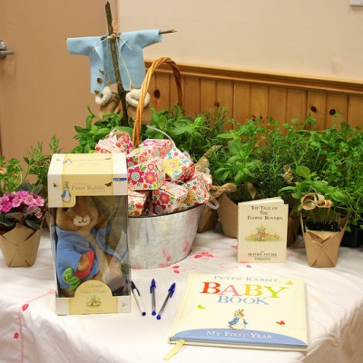 A Beatrix Potter Baby Shower