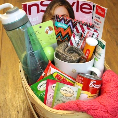 DIY Get Well Soon Gift Basket