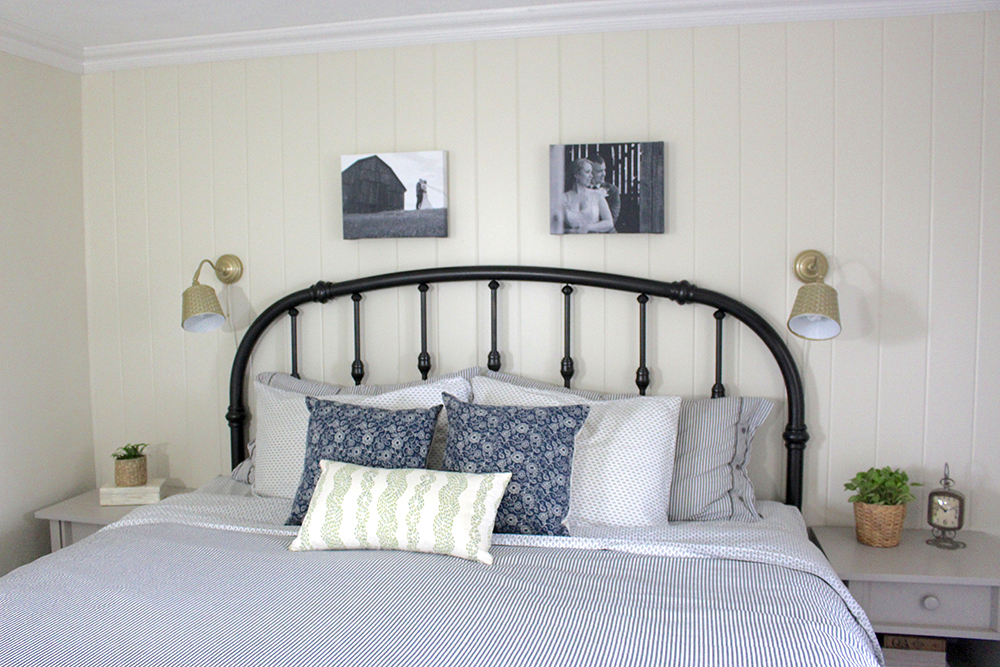 Diy Wrought Iron Headboard Life At Cloverhill