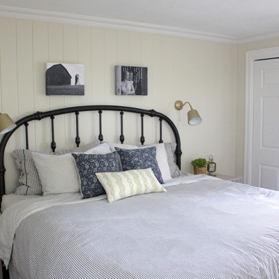 One Room Challenge Week 6: Farmhouse Master Bedroom Reveal!