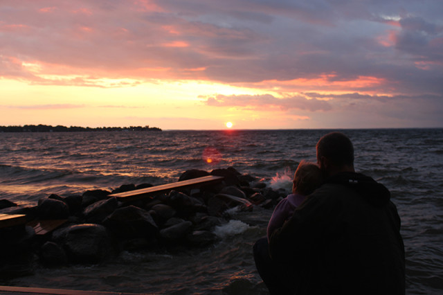 dad-lucy-september-sunset