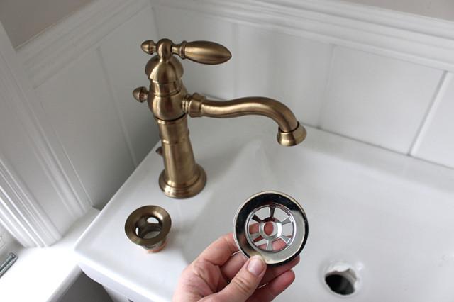 delta-faucet-paint-drain