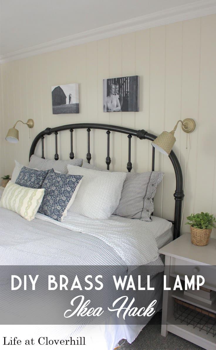 diy-brass-wall-lamp-ikea-hack