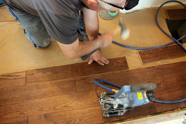 installing-hardwood