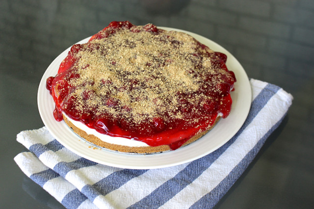 no-bake-cherry-cheesecake