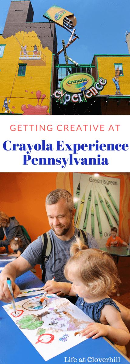 Getting Creative atCrayola ExperiencePennsylvania