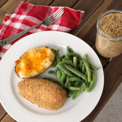 Homemade Shake and Bake: Easy Dinner Idea