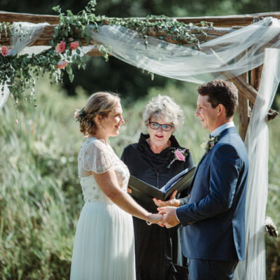 A Beautiful Lakeside Wedding