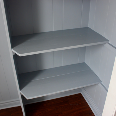 One Room Challenge Week 3 : Building Closet Shelves