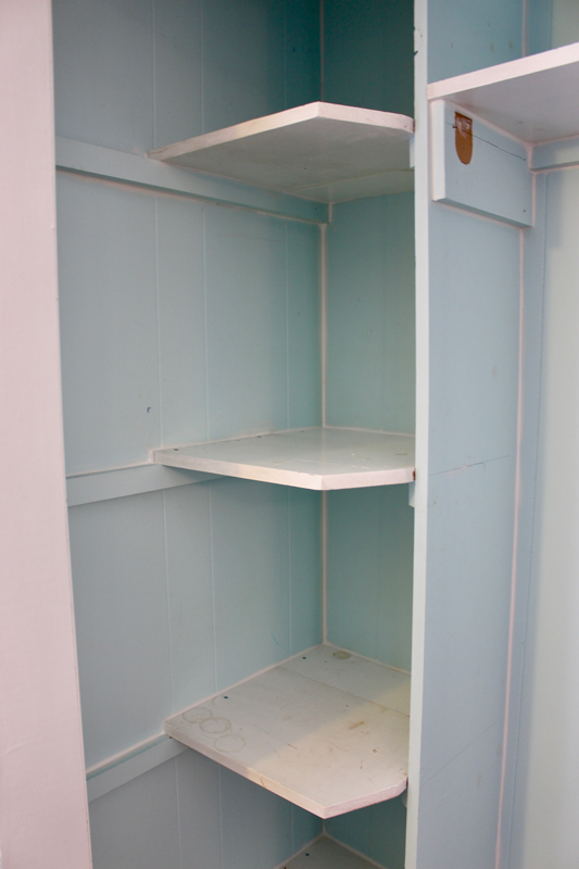 The First Step Was To Figure Out What We Wanted To Keep And What Would Be  Scrapped. I Took Down The Metal Closet Rod (it Was Just A Few Screws) And  Took ...