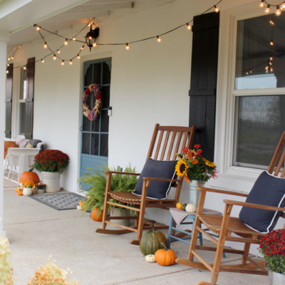 Fall in the Country – Our Front Porch