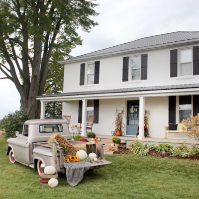 Autumn at the Farmhouse 2020 (with a vintage truck!)