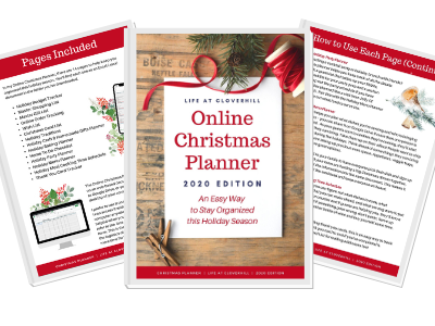 Online Christmas Planner {2020 Edition} – An Easy Way to Stay Organized this Holiday Season