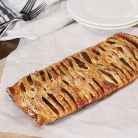Braided Apple Puff Pastry